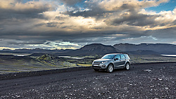 THEMENBILD - Unterwegs auf Islands Hochlandpiste F 208 mit dem Land Rover Discovery Sport, aufgenommen am 15. Juni 2019 in Island // On the way to Iceland's highland piste F 208with the Land Rover Discovery Sport, Iceland on 2019/06/15. EXPA Pictures © 2019, PhotoCredit: EXPA/ Peter Rinderer