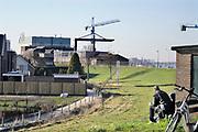 Nederland, Millingen aan de Rijn, 23-2-2019Scheepswerf Bodewes  is na jarenlang gesloten te zijn geweest overgenomen door scheepswerf Gelria en is nu weer in bedrijf. Er wordt voornamelijk onderhoud aan binnenvaartschepen gedaan .Constructiebedrijf .Foto: Flip Franssen