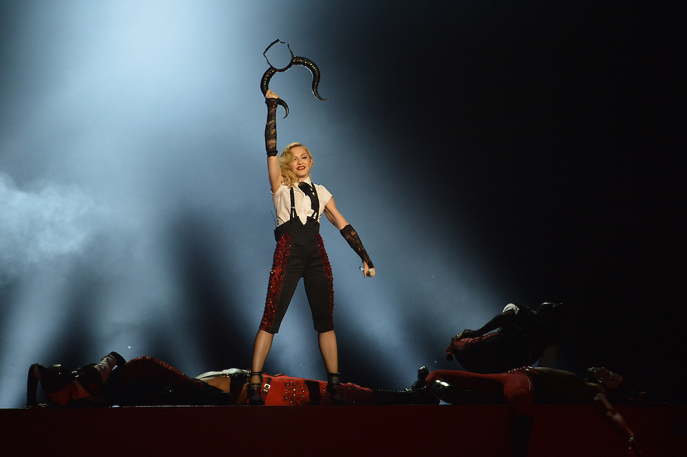 Brit awards 2015 at 02 arena . Pictured Madonna .Pic Dave Nelson