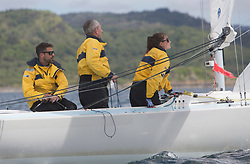 Clyde Cruising Club's Scottish Series 2019<br /> 24th-27th May, Tarbert, Loch Fyne, Scotland<br /> <br /> Day  1 - Perfect Conditions for the Etchells<br /> <br /> GBR1009, Mayhem, Luke Cross, RGYC, Etchells 22 OD<br /> <br /> Credit: Marc Turner / CCC