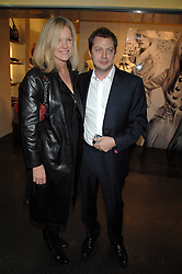 ELISABETH MURDOCH daughter of Media <br />tycoon Rupert Murdoch and her husband MR MATTHEW FREUD at a party to celebrate the launch of Holly Peterson's debut novel 'The manny' held at Selfridges, Oxford Street, London on 26th February 2007.<br /><br />NON EXCLUSIVE - WORLD RIGHTS