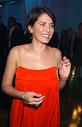 SADIE FROST at a party to celebrate the centenary of Montblanc held at Lindley Hall, Elverton Street, London SW1 on 9th March 2006.<br /><br />NON EXCLUSIVE - WORLD RIGHTS
