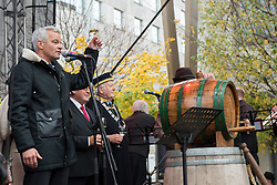 Sasa Arsenovic, mayor of Maribor during martinovanje, St. Martin's Day Celebration on November 11, 2019 in Maribor, Slovenia. Photo by Milos Vujinovic / Sportida