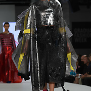 Designer Maddy Stringer the Best of Graduate Fashion Week showcases at the Graduate Fashion Week 2018, June 6 2018 at Truman Brewery, London, UK.