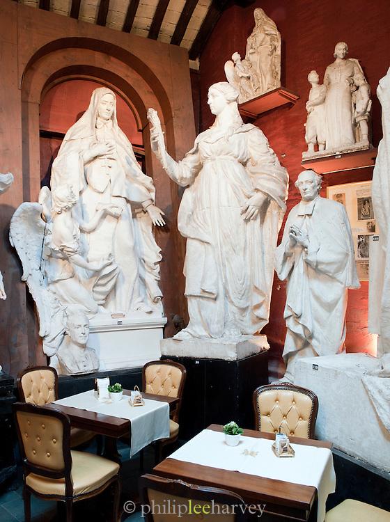 Interior of Museo Atelier Canova Tadolini, Rome, Italy.