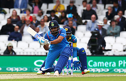 June 8, 2017 - London, United Kingdom - Rohit Shama of India.during the ICC Champions Trophy match Group B between India and Sri Lanka at The Oval in London on June 08, 2017  (Credit Image: © Kieran Galvin/NurPhoto via ZUMA Press)