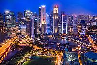Singapore Metropolis @ Twilight