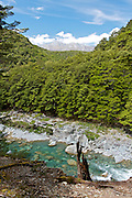 View of the Greenstone River from the Greenstone Track.