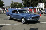 Classic car from the Route 66 annual San Bernardino car show.