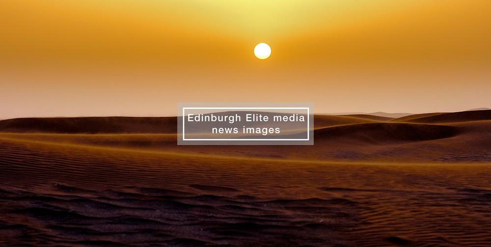 Sunrise over the Moroccan Sahara<br /> <br /> (c) Andrew Wilson   Edinburgh Elite media