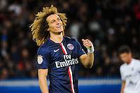 David LUIZ - 28.04.2015 - Paris Saint Germain / Metz - Match en retard - 32eme journee Ligue 1<br />Photo : Nolwenn Le Gouic / Icon Sport