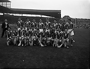 03/09/1961<br /> 09/03/1961<br /> 3 September 1961<br /> All-Ireland Minor Hurling Final: Kilkenny v Tipperary at Croke Park, Dublin.<br /> Kilkenny team.
