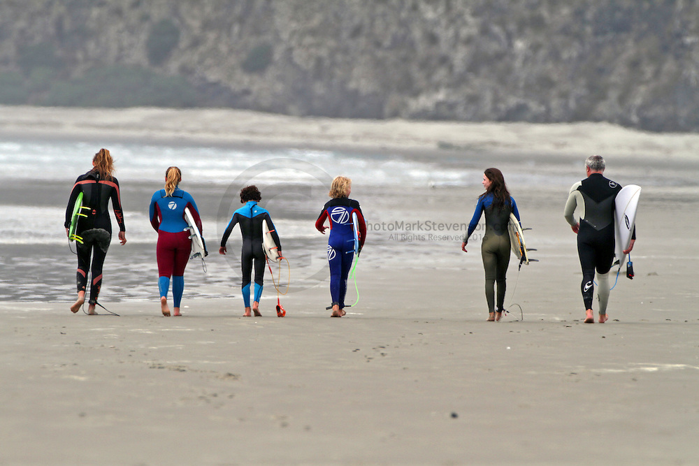 South Island Grom Series Event 2, Dunedin, New Zealand. Run by SISA/SCBRA the event was held over the weekend 30/31 1 2016 at Warrington and St Clair Beaches.