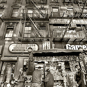 Street scene in Brooklyn, NYC