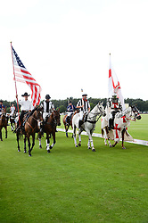 Atmosphere at the Audi International Polo at Guards Polo Windsor Great Park, Egham, Surrey on 28th July 2013.