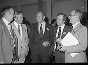 24/01/1979.01/24/1979.24th January 1979.Photographed at the launch of SodaStream in Ireland, from L-R Mr Paul Cullen, Mr Don Philpot, Mr Hugo Mitchell and Mr George Emerson (Switzers) and Mr Terry Spillane (Irish Hardware Association).