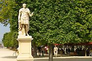 Paris - France -Jardin des Tuileries - Statue