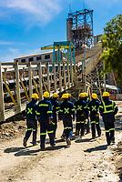 Miners, Cullinan Diamond Mine, Cullinan, 30 km (19 mi) east of Pretoria The town is named after diamond magnate Sir Thomas Cullinan.