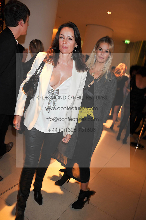 Left to right, TRISH SIMONON and EMMA WOOLLARD at the St.Martins Lane Hotel 10th year bash held on 9th September 2009.