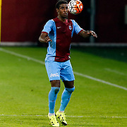 Trabzonspor's Kevin Constant during their Turkish Super League match Trabzonspor between Gaziantepspor at the Avni Aker Stadium at Trabzon Turkey on Wednesday, 28 October 2015. Photo by Aykut AKICI/TURKPIX