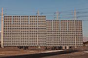 Photovoltaic array in Las Vegas, NV.