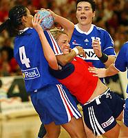 Håndball, kvinner, landskamp, Møbelringen Cup, Trondheim 27.11.2004, Norge - Frankrike  35 - 20 <br />Randi Gustad<br />Foto: Carl-Erik Eriksson, Digitalsport