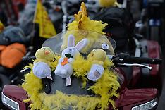 Bikers join Children's Hospital Easter egg run | Glasgow |  1 April 2018