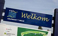 HENGELO (GLD) -  Welkom op onze golfbaan.  golfbaan 't Zelle . COPYRIGHT KOEN SUYK