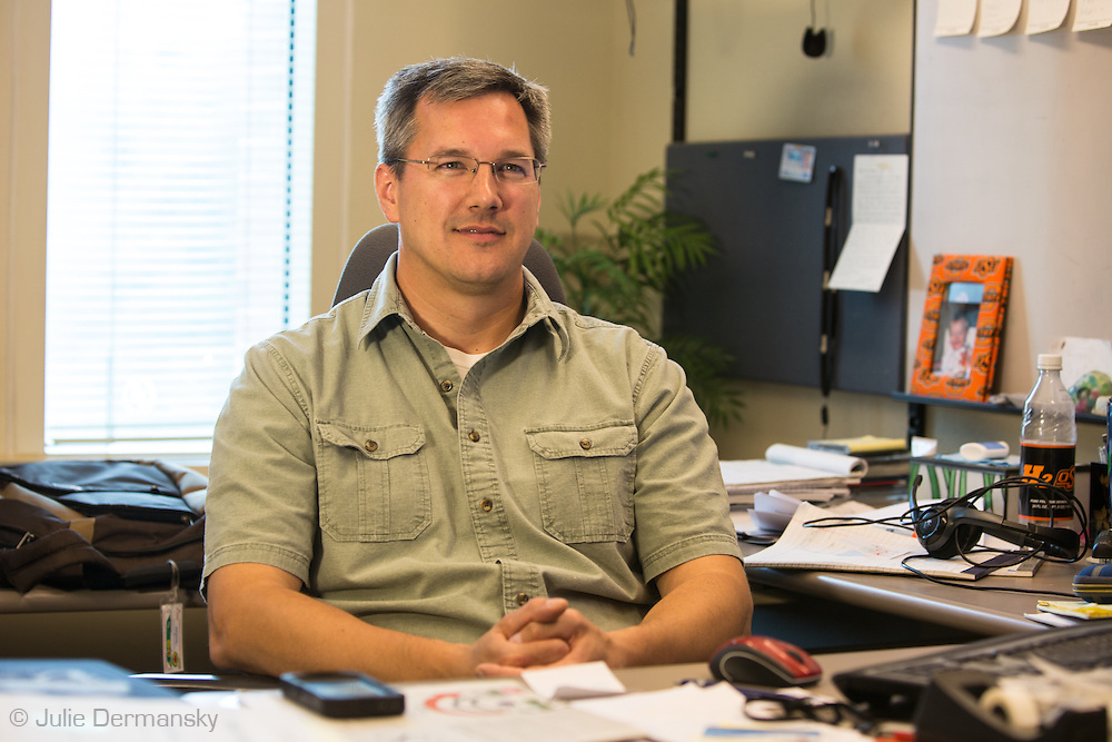 Todd Halihan, Oklahoma State University geology professor, on the connection between waste-water disposal wells and earthquakes.