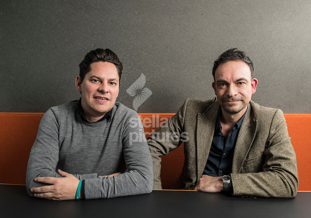 Mark Ackred (left) and Martin Slaney of dabblinvest.com<br /> Picture by Daniel Hambury/Stella Pictures Ltd 07813022858<br /> 07/03/2017