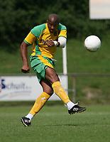 Photo: Maarten Straetemans.<br /> AGOVV Apeldoorn v Norwich City. Pre Season Friendly. 21/07/2007.<br /> John Ostemebor