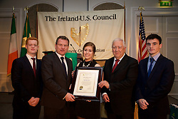 Gavin Kiely<br /> Danny McCoy, Director General of Ibec<br /> Molly Haskins<br /> Dr Michael Somers - AIB Group<br /> Evin McKay
