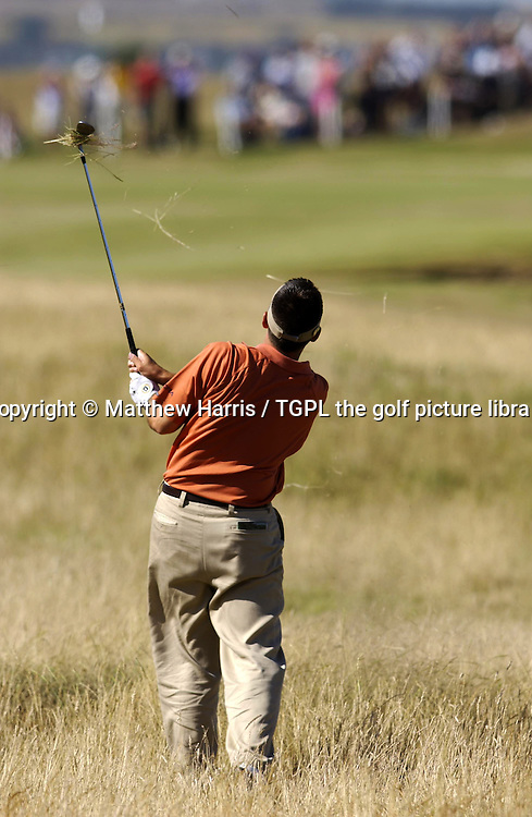 Ben CURTIS (USA) during fourth round The Open Championship 2003,Royal St Georges,Sandwich,Kent,England.