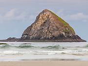 Oceanside, Oregon.  A Seastack-Three Arch Rocks