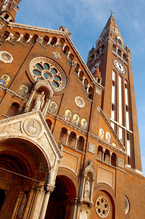 The Cathederal Szeged, Hungary. Szeged Dom. .<br /> <br /> Visit our HUNGARY HISTORIC PLACES PHOTO COLLECTIONS for more photos to download or buy as wall art prints https://funkystock.photoshelter.com/gallery-collection/Pictures-Images-of-Hungary-Photos-of-Hungarian-Historic-Landmark-Sites/C0000Te8AnPgxjRg