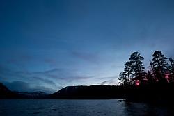 """Independence Lake Sunset 2""- This photograph was shot at Independence Lake, California."