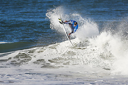 October 25, 2017 - Kolohe Andino of the USA finishes equal 3rd in the MEO Rip Curl Pro Portugal after placing second to title contender Julian Wilson of Australia in Semifinal Heat 1 at Supertubos, Peniche, Portugal...MEO Rip Curl Pro Portugal 2017, Oeste Subregion, Portugal - 25 Oct 2017 (Credit Image: © Rex Shutterstock via ZUMA Press)