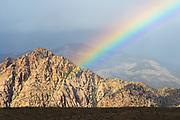 Red Rocks Rainbow. Red Rocks, Nevada