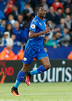 Football - 2016/2017 Premier League - Leicester Ciity V Arsenal. <br /> <br /> Ahmed Musa of Leicester City at The King Power Stadium.<br /> <br /> COLORSPORT/DANIEL BEARHAM