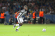 Paul Pogba of Juventus during the Champions League Final between Juventus FC and FC Barcelona at the Olympiastadion, Berlin, Germany on 6 June 2015. Photo by Phil Duncan.
