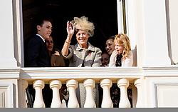 Louis Ducruet, Prinzessin Caroline von Hannover bei den Feierlichkeiten zum Nationalfeiertag in Monaco / 191116<br /> <br /> ***National Day in Monaco, November 19th, 2016***