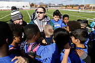 November 18, 2017: The OKC PAL (Police Athletic League) holds their fall championship games at Capitol Hill High School in Oklahoma City, Oklahoma.