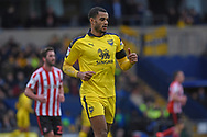 Oxford United defender Curtis Nelson (5) during the EFL Sky Bet League 1 match between Oxford United and Sunderland at the Kassam Stadium, Oxford, England on 9 February 2019.