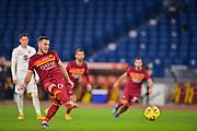 Foto Fabio Rossi/AS Roma/LaPresse<br /> 17/12/2020 Roma (Italia)<br /> Sport Calcio<br /> Roma-Torino<br /> Campionato Italiano Serie A TIM 2020/2021 - Stadio Olimpico<br /> Nella foto: Jordan Veretout goal<br /> <br /> Photo Fabio Rossi/AS Roma/LaPresse<br /> 17/12/2020 Rome (Italy)<br /> Sport Soccer<br /> Roma-Torino<br /> Italian Football Championship League Serie A Tim 2020/2021 - Olimpic Stadium<br /> In the pic: Jordan Veretout goal