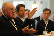 Leaders of 26 dioceses and archdioceses explore innovative solutions to the financial challenges Catholic schools face at the National Catholic Educational Association's Financial Summit on Catholic Schools at Loyola University Water Tower Campus in Chicago, Il.