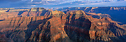 Panorama from Point Sublime on the North Rim of the Grand Canyon
