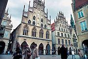 Duitsland, Münster, 15-06-1998..Museum, raadhuis waar de Vrede van Münster werd getekend...Foto: Flip Franssen/Hollandse Hoogte