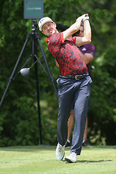 May 25, 2019 - Fort Worth, TX, U.S. - FORT WORTH, TX - MAY 25: Jonas Blixt hits from the 6th tee during the third round of the Charles Schwab Challenge on May 25, 2019 at Colonial Country Club in Fort Worth, TX. (Photo by George Walker/Icon Sportswire) (Credit Image: © George Walker/Icon SMI via ZUMA Press)