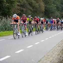 05-09-2020: Wielrennen: Guus Caarels Memorial: Goor <br />Pim Ronhaar in tweede positie