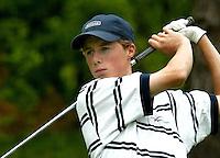 MOLENSCHOT - Reinier Saxton.     Voorjaarswedstrijd golf 2003 op GC Toxandria. . COPYRIGHT KOEN SUYK